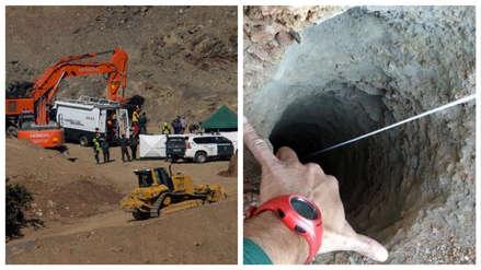 España | Mineros descienden para rescatar al niño de dos años que cayó a un pozo