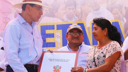 Martín Vizcarra supervisará entrega de 5,000 títulos de propiedad en Piura