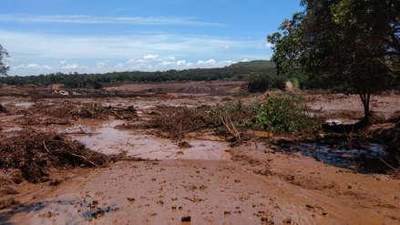 Ruptura de una represa minera deja