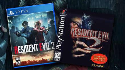 Galería | Esta es la comparación de Resident Evil 2 Remake y el original de PlayStation 1
