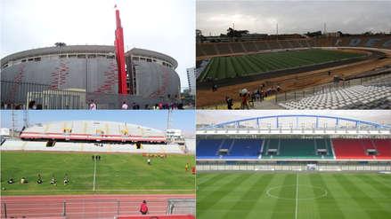 Mundial Sub 17 | Conoce los estadios que serán sedes del evento internacional [FOTOS]