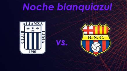 Alianza Lima vs. Barcelona SC: horarios y canales del partido por la 'Noche Blanquiazul'