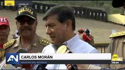 Ministro del Interior dijo que está en evaluación la declaratoria de emergencia en La Victoria