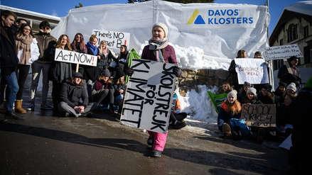 Quién es Greta Thunberg, la activista adolescente que llamó la atención en el Foro de Davos