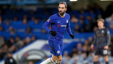 Así le fue a Gonzalo Higuaín en su debut con la camiseta del Chelsea