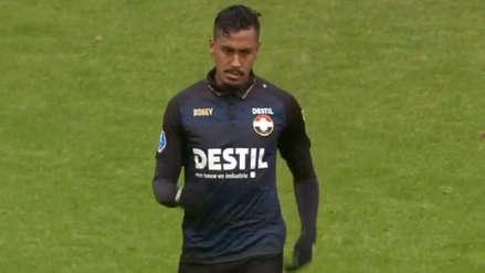 Renato Tapia sigue sumando minutos y triunfos con el Willem II
