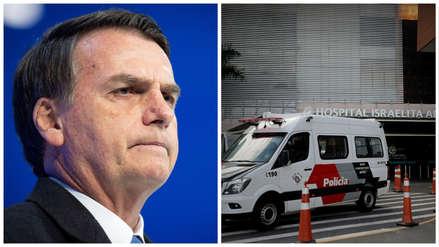 Jair Bolsonaro ingresó a hospital para una nueva cirugía abdominal tras atentado