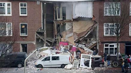Una fuerte explosión provocó el colapso de un edificio en La Haya [VIDEO]