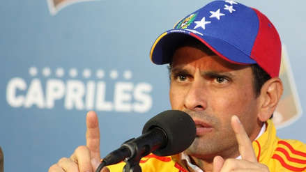 Capriles pide a Maduro que reconozca a Guaidó como presidente de Venezuela