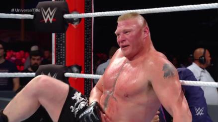 WWE Royal Rumble 2019 | Brock Lesnar destruye a Finn Balor y retiene el Título Universal