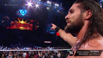 WWE Royal Rumble 2019 | Seth Rollins elimina a Braun Strowman y gana la batalla real