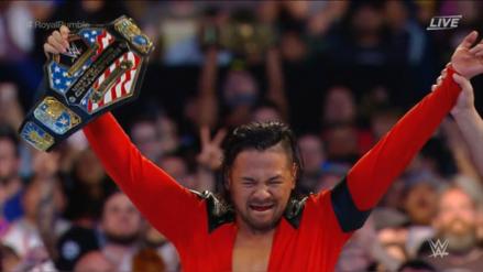 WWE Royal Rumble 2019 EN VIVO | Shinsuke Nakamura recupera el título de EE. UU. tras derrotar a Rusev