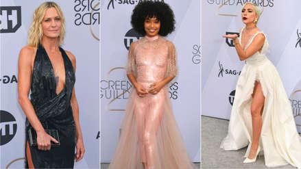 SAG Awards 2019: Las actrices mejor vestidas de la alfombra plateada [FOTOS]