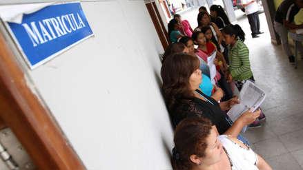 Minedu: Matrícula en escuelas públicas es gratuita y no está condicionada a pagos