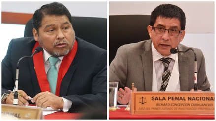 Fiscalía: Jueces que separaron a Concepción Carhuancho
