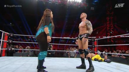 Royal Rumble 2019 | Nia Jax sorprendió a todos entrando a la batalla real masculina