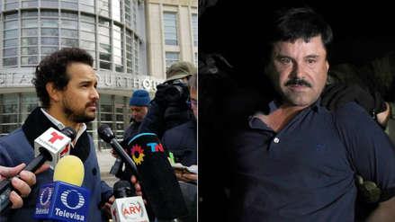 Actor que da vida al 'Chapo' Guzmán asiste a juicio para estudiar a