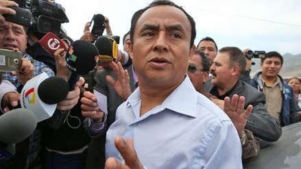 Gregorio Santos dice que en Perú se vive