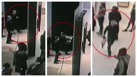 Un hombre ingresó a un museo de Moscú y a la vista de todos se robó un cuadro del siglo XIX  [VIDEO]