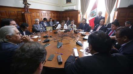 Junta de Portavoces aprobó recomposición del Consejo Directivo del Congreso