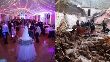 """""""Parte de la familia del novio ha fallecido"""": Testimonio de sobreviviente a colapso de pared en boda en Abancay"""