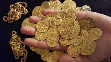 Máscara peruana precolombina fue hallada entre posibles restos de tesoro español en Florida [FOTO]