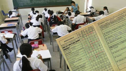 Estudiantes de secundaria ya no serán calificados con notas de 0 a 20