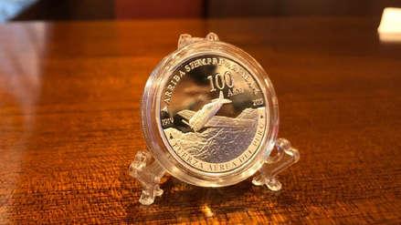 Banco Central presentó nueva moneda alusiva a los 100 años de la Fuerza Aérea