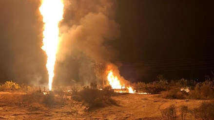 Nueva explosión en toma ilegal de combustible en el estado mexicano de Hidalgo