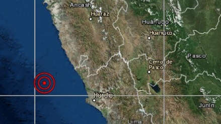 Sismo de magnitud 4.0 sacudió Barranca esta noche