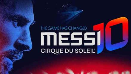 Lionel Messi y el Cirque du Soleil se unen en un espectáculo de circo y fútbol