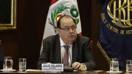 Julio Velarde sobre José Chlimper: Inasistencias no afectan en nada desempeño del BCR