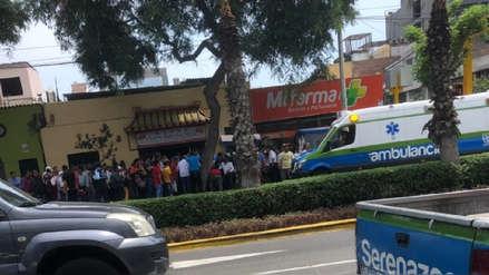 Delincuentes dispararon a cambista para robarle 6,000 dólares en Miraflores