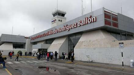 Lluvias y neblina provocaron cierre de aeropuerto de Arequipa [Video]