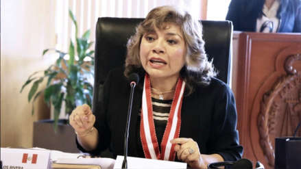 Yeni Vilcatoma presentó una denuncia constitucional contra la fiscal de la Nación