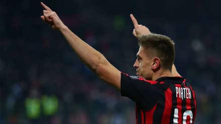 Con doblete de Krzysztof Piatek: Milan venció 2-0 al Nápoli