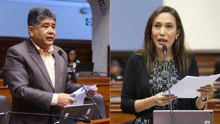 Congresista dijo que tocamientos a Paloma Noceda se debieron a