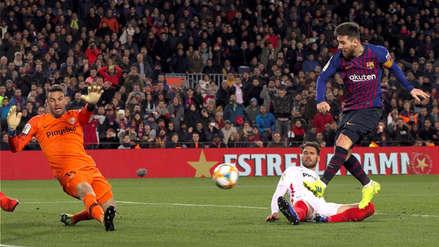 ¡Arrasó! Barcelona goleó 6-1 a Sevilla y clasificó a semifinal de la Copa del Rey