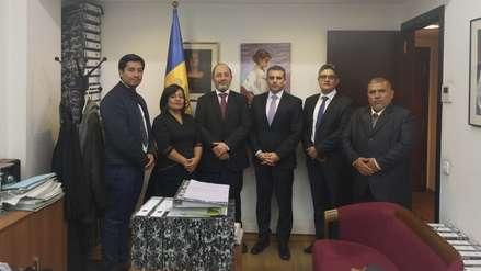 Equipo del caso Lava Jato se reunió con el fiscal general del Principado de Andorra