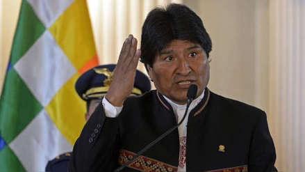 Evo Morales dice que Estados Unidos busca