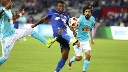 Sporting Cristal fue goleado por 3-0 a manos de Emelec en la 'Explosión Azul'