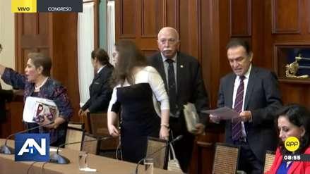 Congresistas de Fuerza Popular abandonaron sesión de Consejo Directivo