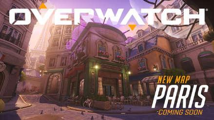 Overwatch presenta a Paris, su nuevo mapa de asalto