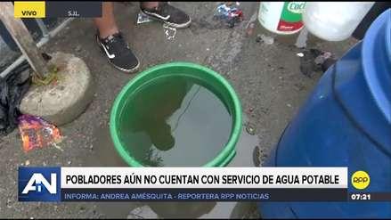 San Juan de Lurigancho | Vecinos denuncian salida de agua sucia en punto de abastecimiento