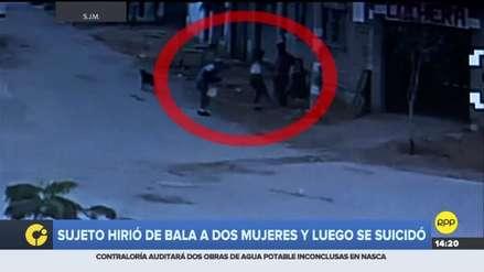 Un hombre hirió de bala a dos mujeres y luego se suicidó en San Juan de Miraflores