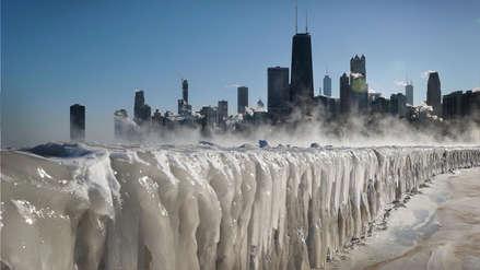 Más frío que en la Antártida: una helada brutal congela parte de EE.UU. [FOTOS]