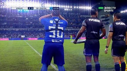 Mariano Soso se disculpó con Cristal por hincha que ingresó en amistoso con Emelec