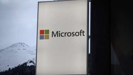 Microsoft reporta aumento de ingresos gracias a la computación en nube