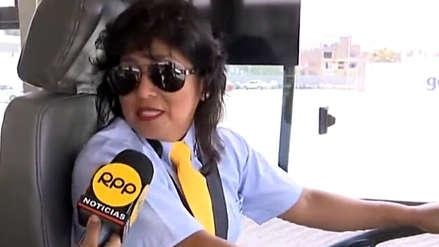 """""""No bajaremos la guardia"""": Conductora del Metropolitano responde a mensajes machistas contra su compañera"""