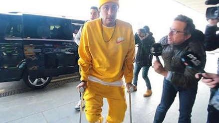 Neymar se enojó con un periodista porque le preguntó si regresaría a Barcelona